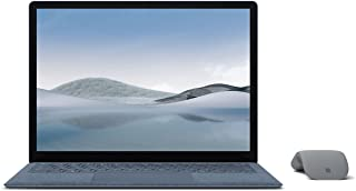 【Microsoft ストア限定】2点セット: Surface Laptop 4 13.5インチ(Core-i5 / 8GB / 512GB / アイスブルー) + Surface Arc Mouse グレー