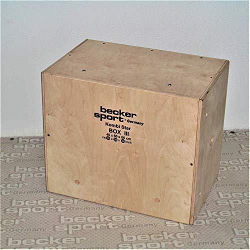 Becker Sport Germany KombiStar Box III, 40 x 50 x 60 cm (BSG 28972) se puede combinar perfectamente con KombiStar Box I y KombiStar Box II.