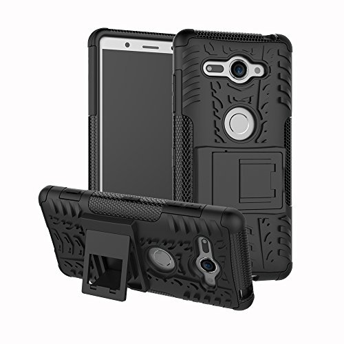 Sony Xperia XZ2 Compact Handy Tasche, FoneExpert® Hülle Abdeckung Cover schutzhülle Tough Strong Rugged Shock Proof Heavy Duty Hülle Für Sony Xperia XZ2 Compact