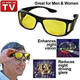 SEAFRONT HD Vision Day and Night Riding Trendmi Nightdrive Easy Wrap Around Anti-Glare