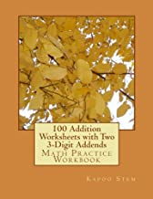 2 digit addition with 3 addends worksheets