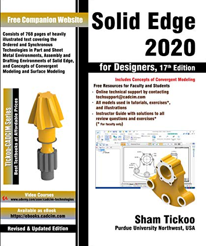 Solid Edge 2020 for Designers, 17th Edition (English Edition)