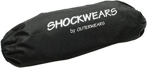 Outerwears 06-10 Yamaha RAPTOR700 Shockwears Rear Shock Cover (Rear/Black)