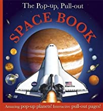 The Pop Up, Pull Out Space Book by DK (2010) Hardcover