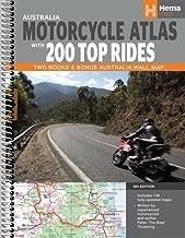 Australia Motorcycle Atlas + 200 Top Rides: Explore Australia's Best Bike Roads