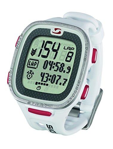 Sigma Reloj Pulsómetro Deportivo PC 26.14 Blanco, Incluye Banda torácica, señal codificada, Unisex, Talla Única