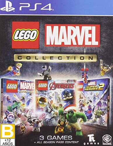 Product Image of the Lego Marvel Collection - PlayStation 4