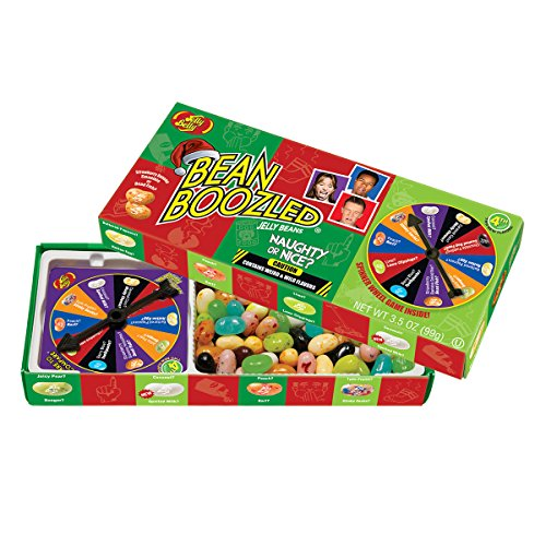 Jelly Belly BeanBoozled Naughty or Nice Spinner Jelly Bean Gift Box, 3.5 Ounce