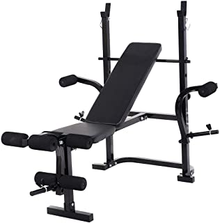 GOPLUS Adjustable Weight Lifting Multi-Function Bench Fitness Exercise Strength Workout