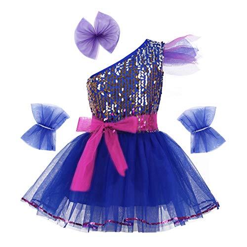 iEFiEL Mädchen Kleid Ballettkleid Pailletten Kleid Tütü Ballett Trikot Kinder Tanz Kostüm...