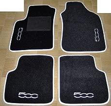 Gummimatten Gummifußmatten Original Qualität FIAT 500 2007-2012