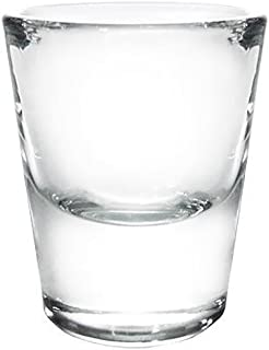 BarConic 1 oz Thick Base Clear Shot Glass (Pack of 12)