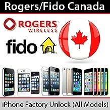 Rogers Fido Canada iPhone Unlock Service 4 4S 5 5C 5S 6 6+ 6S 6S+ 7 7+ Supports Clean / Blocked / Blacklisted / Unpaid 100% Unlock Premium Unlock Service