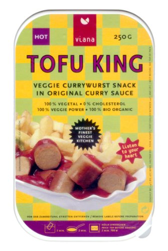 Viana Tofu King Currywurst - 250 g Bio, Vegan
