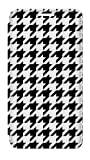 RW2301 Black White Houndstooth Monogram Pattern Flip Case Cover For Samsung Galaxy S5