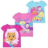 N?¡ckelodeon Nickelodeon Girls and Toddlers 3-Pack T-Shirts: JoJo Siwa and Paw Patrol Blue, 3T