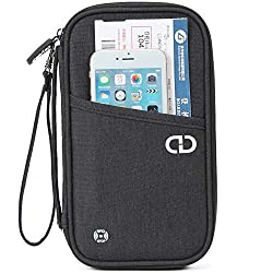 Ideal international travel organiser and compact organiser with lots of pockets RFID protection, keeps thieves from using electronic gadgets to steal your identity and credit card information. Dimensions: 13x23x3 cm Weight: 99.8g. Lots of pockets inc...