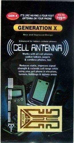 As Seen On TV 10 Cell Phone - Antenna Boosters
