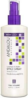 Naturals Full Volume Style Spray, Lavender - Biotin 8.20 oz (Pack of 5)