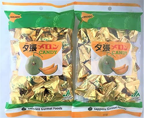 北海道お土産 お菓子 北海道 夕張メロン 飴 夕張メロン 果汁 キャンディ 200 g × 2個