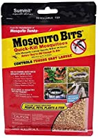 Quick acting formula EPA registered in all 50 states Available in an 8 oz size Quick kill mosquito bits Environmentally sound biological mosquito control Kills mosquitoes fast, within 24 hours EPA registered in all 50 states; weighs 8-ounce Sprinkle ...