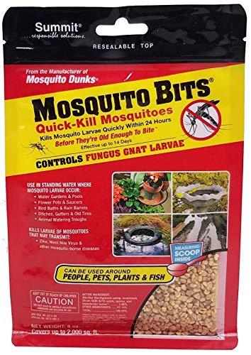 Summit 116-12 Quick Kill Mosquito Bits, 8-Ounce