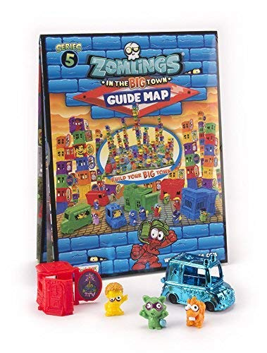 Series 1 Magic Box Toys MBX003022 Zomlings 8 Figures /& 4 Different Colored House