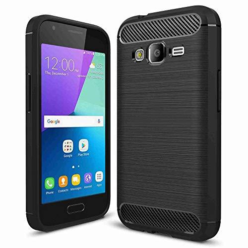 United Case Bumper Fino para Samsung Galaxy J1 Ace | Negro |...