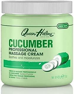 Queen Helene Jar Cream Cucumber Massage 15 Ounce (443ml) (6 Pack)