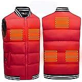 新しいスマート充電定温温かい電気スポーツベストコットンベスト秋と冬の暖房服…
