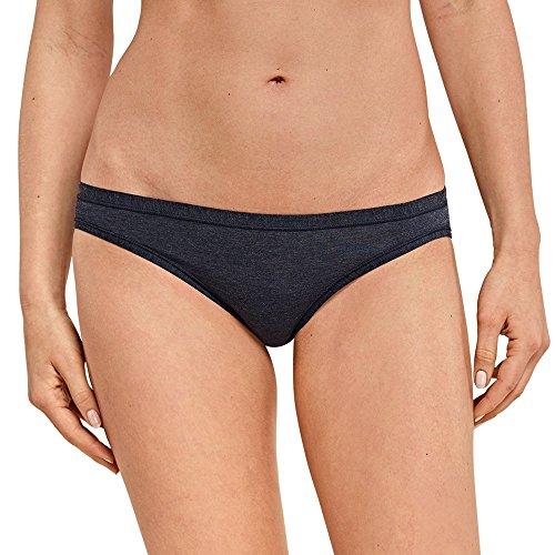 Schiesser Damen Slip Personal Fit Mini, Blau (Nachtblau 804), Medium (Herstellergröße: Medium)