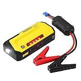 VicTsing 600A Peak 18000mAh Jumpstarter, Tragbare Auto Starthilfe mit LCE Bildschirm, Power Bank...