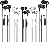 Best Wired Earbuds - Earbuds Wired with Microphone Pack of 5, Noise Review