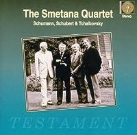 String Quartets By Schumann & Schubert