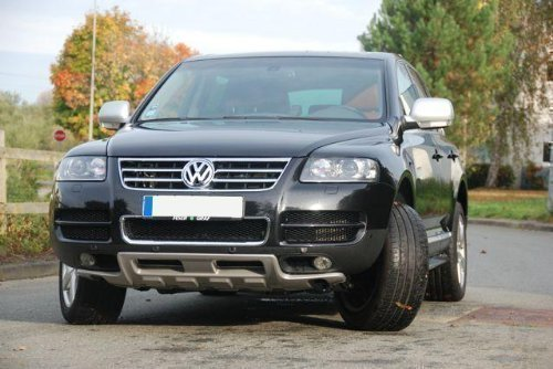 Volkswagen VW Touareg Unterfahrschutz vorne King Kong New R Line Spoiler