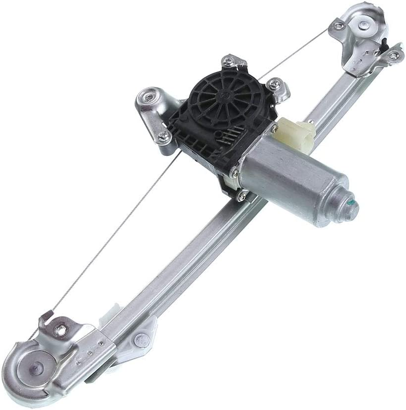Rear Left Driver Side Power Max Free Shipping New 53% OFF Window Chev Regulator Motor with for