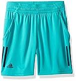 adidas Tennis 3 Stripes Club Shorts Pantalones Cortos, Hi-Res Aqua, Small para Hombre