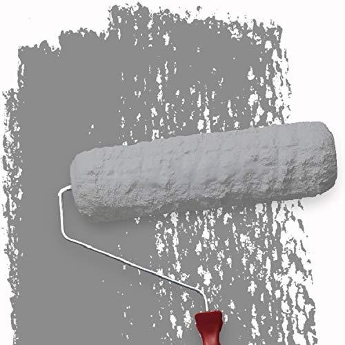 WALLCOVER Colors Wandfarbe grau für Innen 5 L Innenfarbe Moon 6A Matt | Profi Innenwandfarbe in Premium Qualität | weitere Größen und Farbtöne erhältlich
