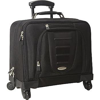 Samsonite Spinner Mobile Office in Wheeled Laptop Briefcase in Black