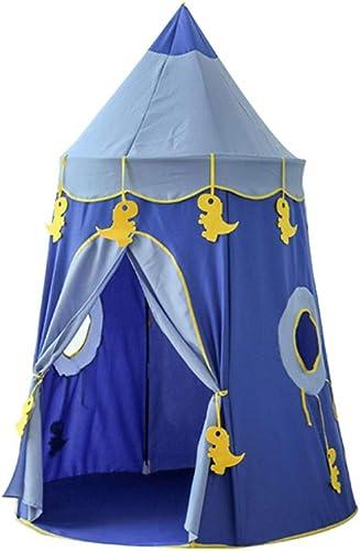 ZHANGyy Kinderzelt Princess Prince Play House Krabbeln Spielzeugzimmer Jurte Burg Warm Ultra-Light