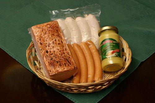 【・直送可】●ビールのおつまみにフライシュケーゼ1本入りのドイツソーセージセット●ギフトセットC
