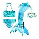 Guter Handwerker Mädchen Meerjungfrauenschwanz zum Schwimmen,Mermaid Tail, für Mädchen, Jungen,...