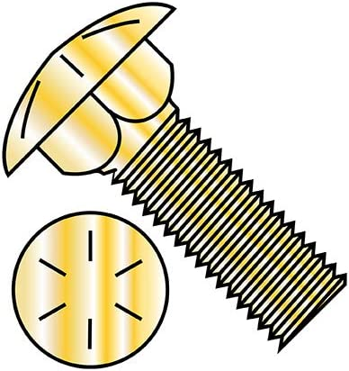5 8-11X3 1 2 Carriage Bolt Grade Price reduction Fully 8 Threaded Zinc P All items free shipping Yellow