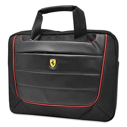 Ferrari Laptoptasche bis 13 ',FECB13BK, Scuderia, Black Carbon