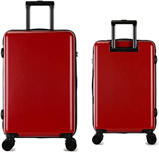 Trolley Suitcase 2 Piece Luggage Nested Set With TSA Lock Spinner Travel Luggage 20in 24in Hardshell Lightweight Trolley C...