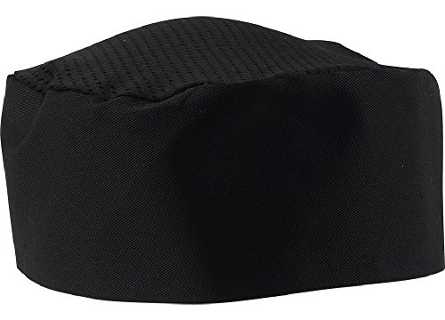 Black Chef Hat – Adjustable. One Size Fit Most (1)
