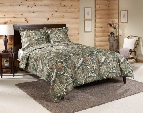 Mossy Oak Break-Up Infinity Mini Comforter Set, Queen