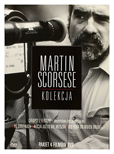 "Martin Scorsese - 4 DVD BOX - ""Who´s that knocking at my door""+""Alice doesn´t live here anymore""+""After Hours""+""Good fellas"""