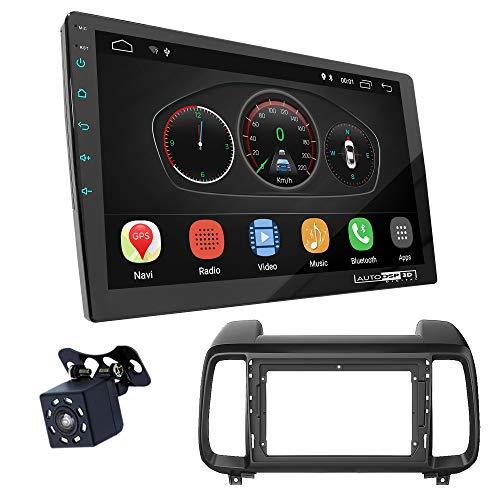 UGAR EX10 9 pollici Android 10.0 DSP Navigazione GPS per Autoradio + 22-310S Kit di Montaggio compatibile per HYUNDAI iX-35 2018+