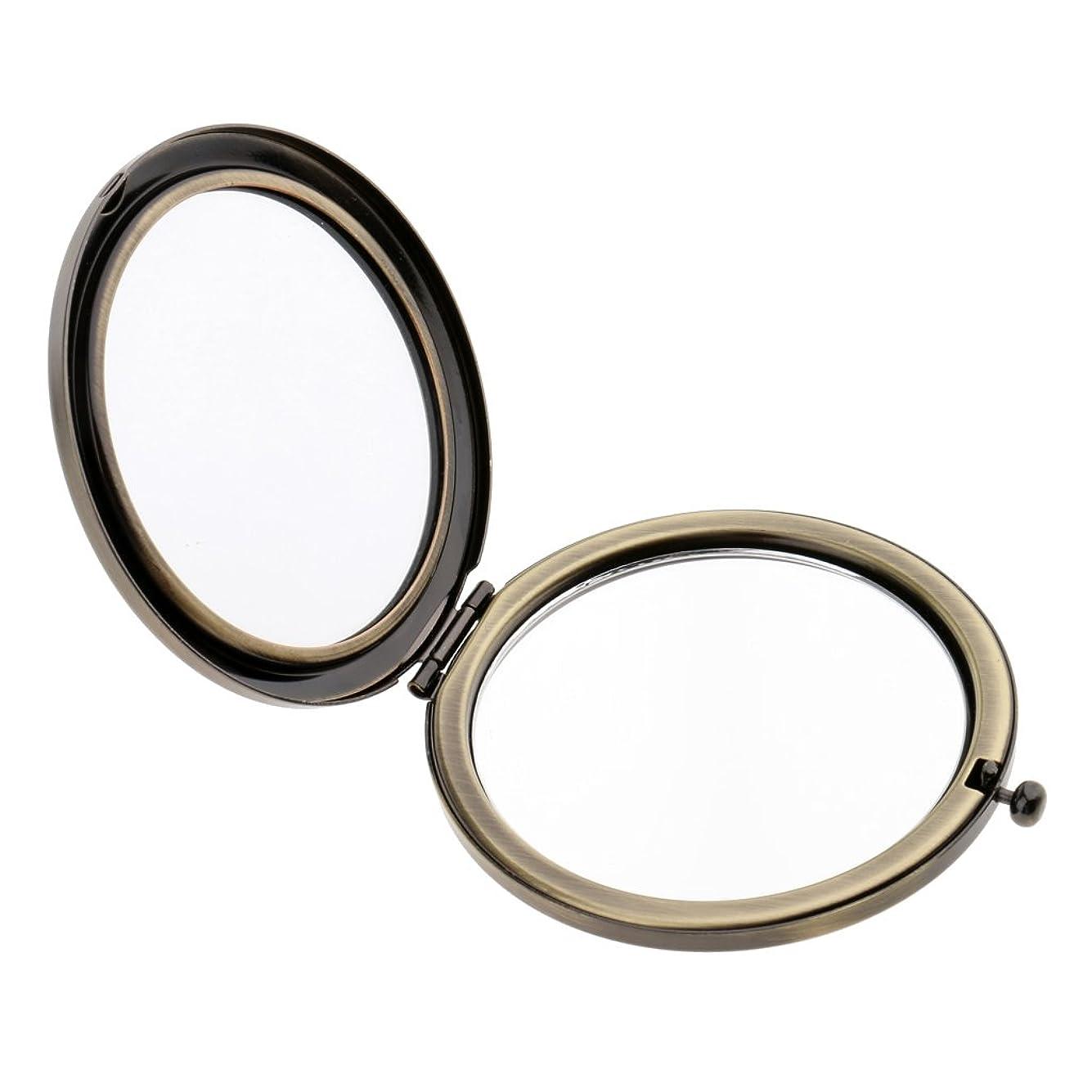 味方シャーロットブロンテニックネームgazechimp ポータブル 両面鏡 拡大鏡 メイクアップミラー